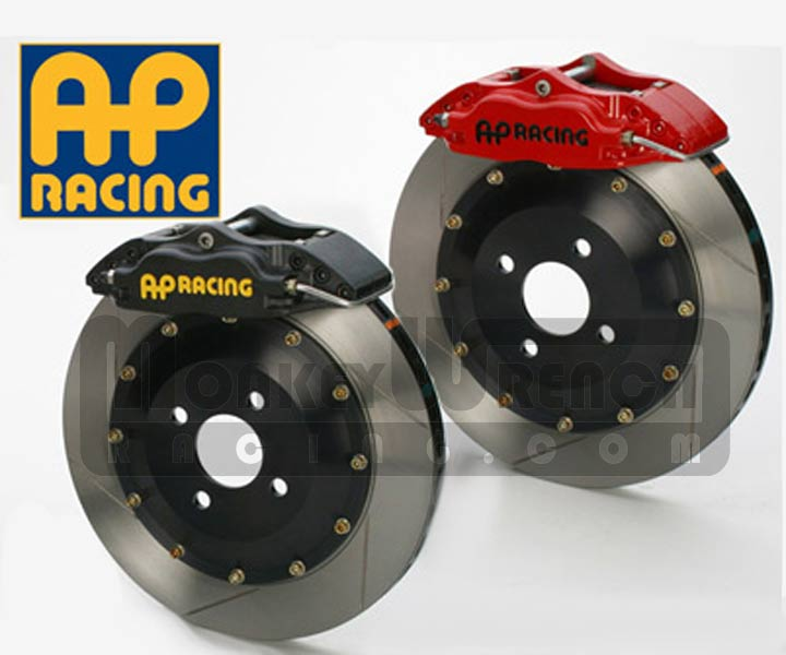 AP Brake Upgrade - 05+ Elise/Exige/2-Eleven Front 315mm Black