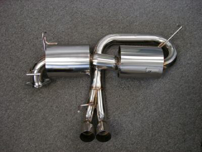 CHE Catback Exhaust - MR2 Spyder 00-05 - Lotus Style Dual Can