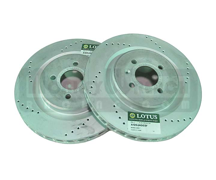 Lotus OEM Brake Rotor Pair (2) - Exige Cup, 2-eleven 308mm Front