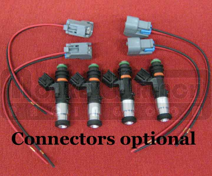 MWR Fuel Injector Set (4) - 1650cc HN