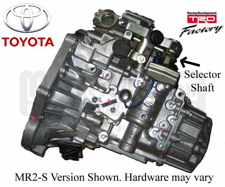 MWR Toyota Transmission - MR2 Spyder 6-spd 3.9:1 LSD - New