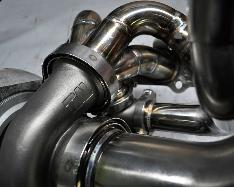 Tial Turbine Housing and Wastegate on Vband Manifold