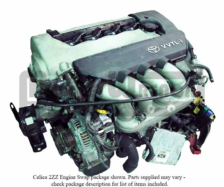 Toyota 2ZZ-GE Engine MR2-S Swap Package