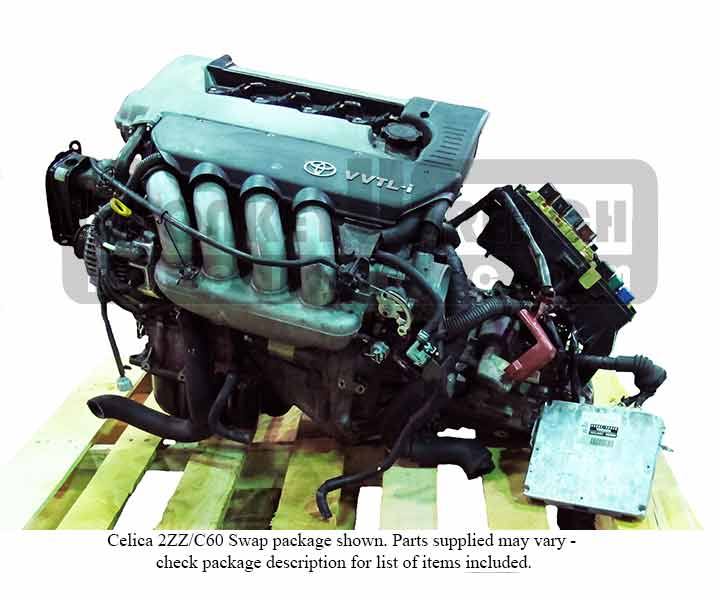 Toyota 2ZZ-GE Engine MR2-S Swap Package w/ 6-speed Transmission