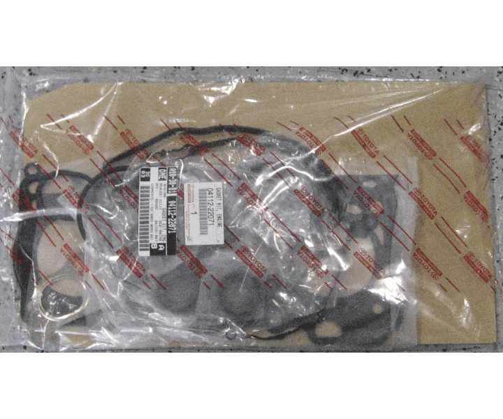 Toyota OEM Engine Gasket Kit - Corolla Matrix 1ZZ 03-04