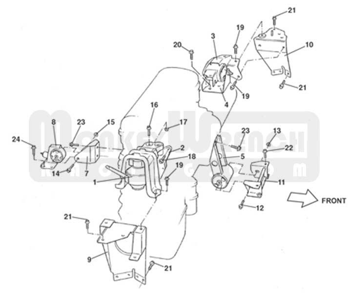 TOY123712208002mwr – Lotus Elise Engine Diagram