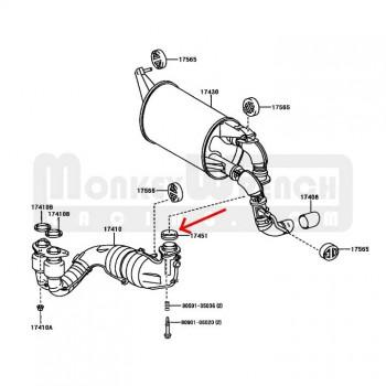 1348 besides Valve Stem Seal Installer J 42078 in addition 2001 Toyota Mr2 Spyder Engine besides Mitsubishi 1 6l Engine besides Product. on mitsubishi catalytic converter