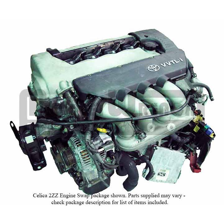 Toyota 2ZZ-GE Engine Celica Swap Package