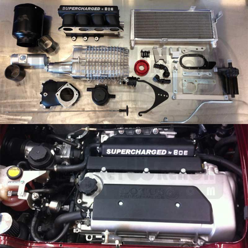 BOE Supercharger Kit - Lotus Elise Exige - Rev400 TVS