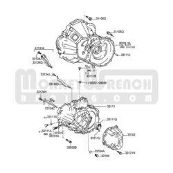 MWR Quaife Dog Box Transmission – Lotus/Toyota 6-speed (3 2/4 4
