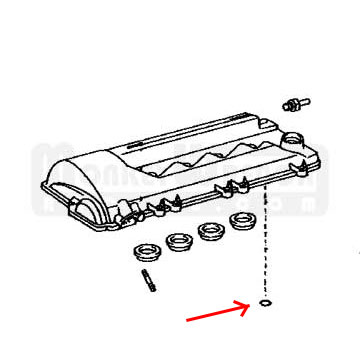 Toyota Oem O Ring 2zz Ge Valve Cover Oil Feed Tube additionally Nissan Gtr R34 Engine Diagram in addition Daniels Single Turbo 2004 Nissan 350z furthermore Exploded View 350 Chevy Motor in addition Ford Oil Filter Tube Installer E40d. on toyota racing oil pan
