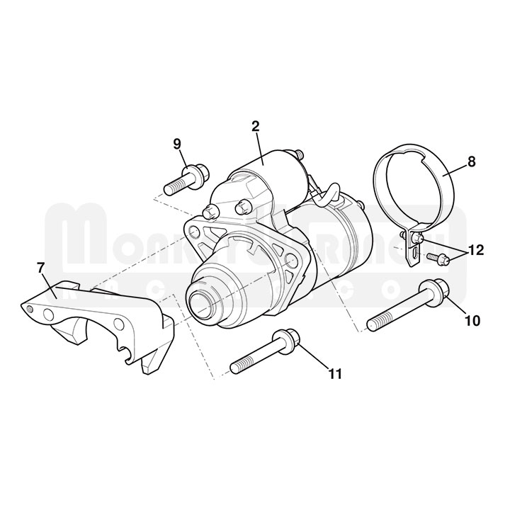 Lotus Oem Starter Adapter