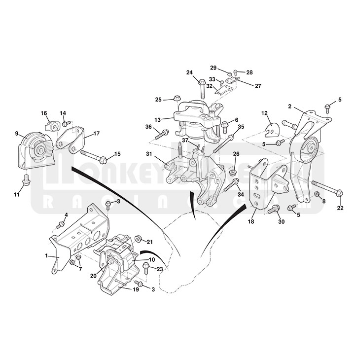 Lotus Elise Engine Diagram