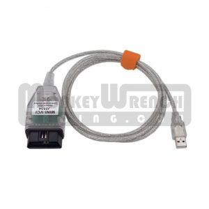 VCI J2534 OBDII OBD2 Cable - Supports Toyota TIS Techstream Software