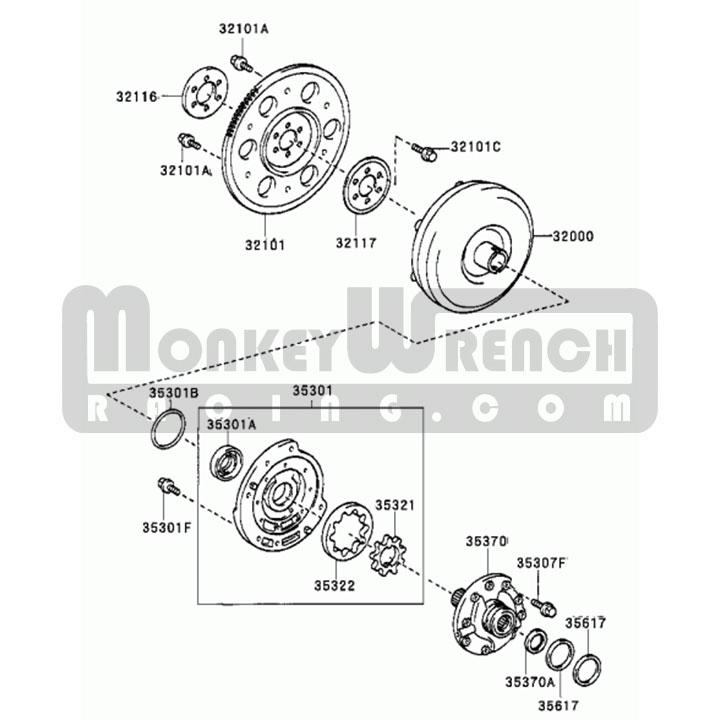 Toyota Oem Flex Plate